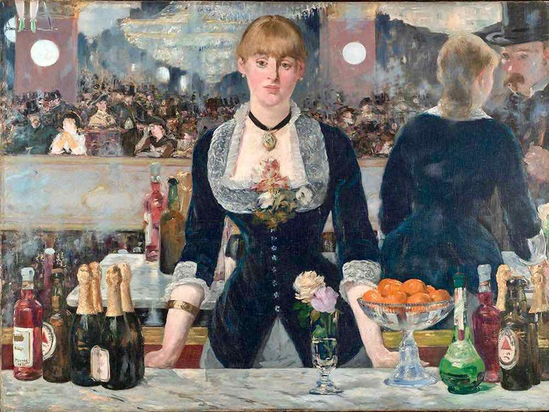 Manet's Bar at the Folies Bergeres