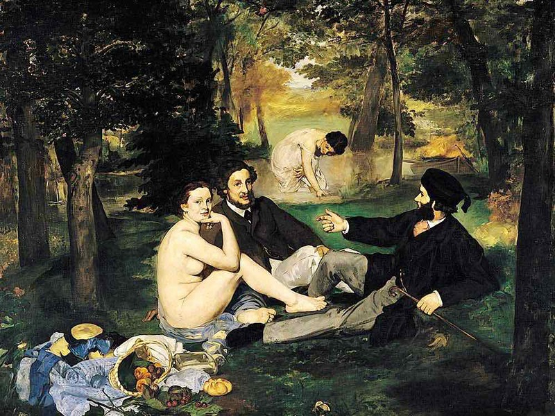 Edouard Manet's Luncheon on the Grass