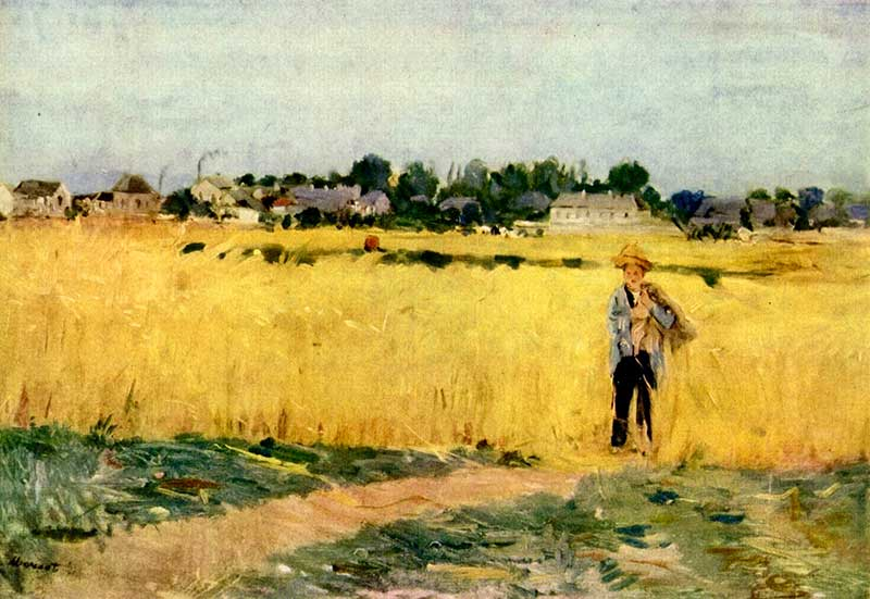 Morisot's In the Wheatfield
