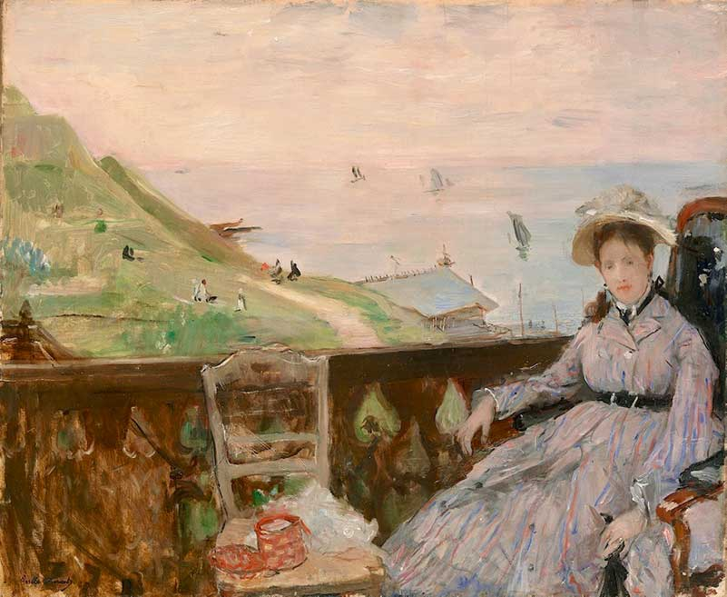 Morisot's On the Terrace