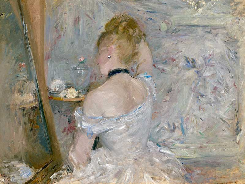 Berthe Morisot's Woman at her Toilette