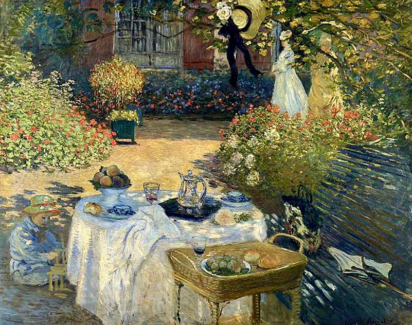 Claude Monet's The Luncheon (1873)