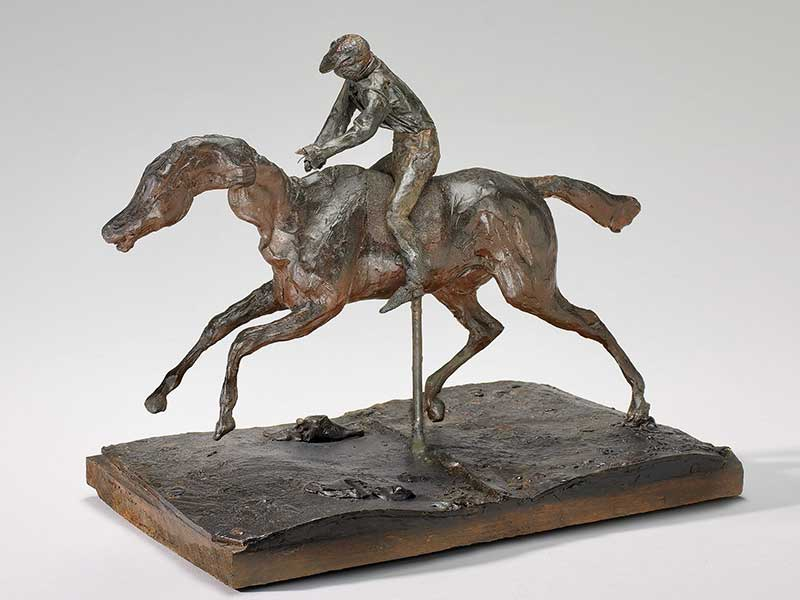 Galloping Horse with Jockey (c. 1890s)
