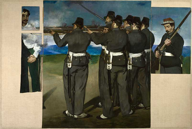 Manet's Execution of Maximilian