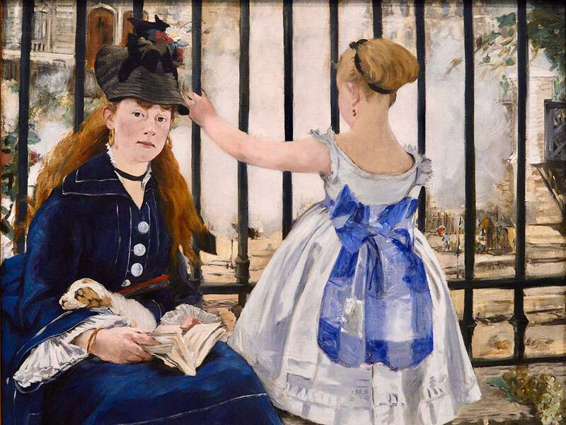 Manet's The Railway (1873)