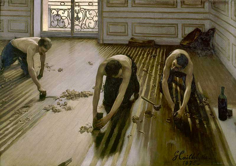 Caillebotte's The Floor Planers