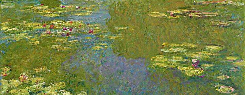 Claude Monet spent the last 30 years of his life working on over 250 versions of the Water Lilies