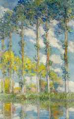 This version of Monet's Poplars sold at Christie's New York for $22.4 million in May 2011
