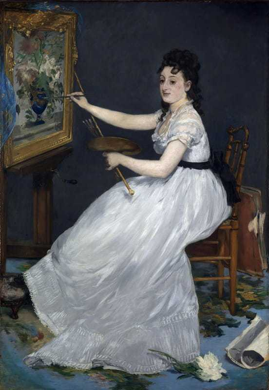 Portrait of Eva Gonzalès, 1869–70, by Édouard Manet