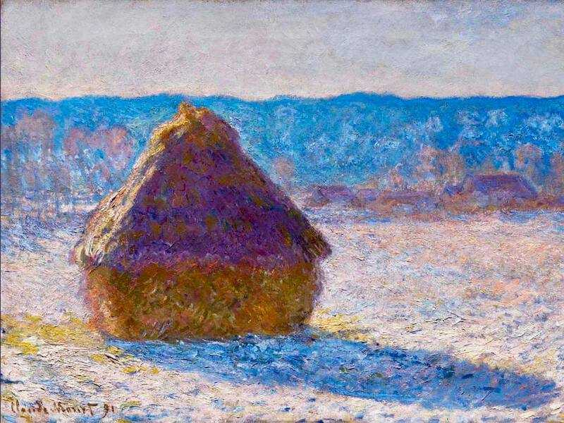 Another series that Monet produced were his famous Haystacks